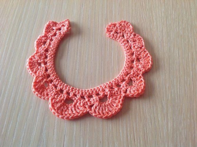 Makerist - Col Claudine - Créations de crochet - 1