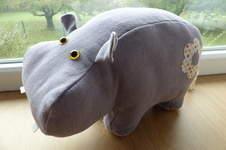 Makerist - Peluche Hippopotame - 1