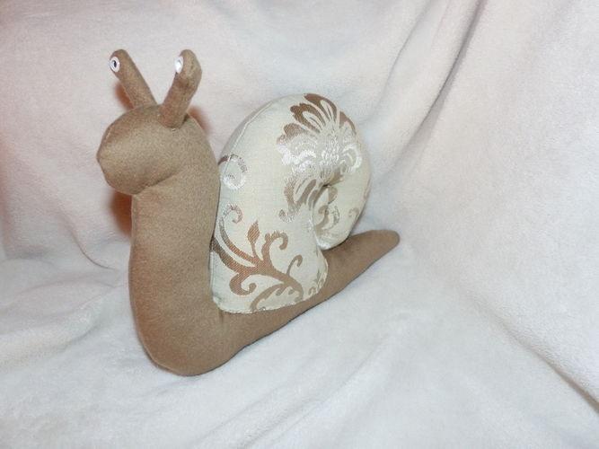 Makerist - Peluche escargot - Autres créations - 2