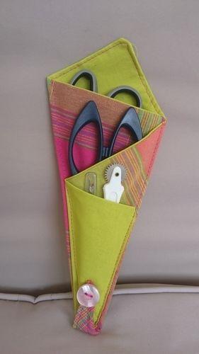 Makerist - Assortiment de trousses et étui à ciseaux pour ranger le matériel de couture  - Créations de couture - 2