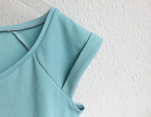 Makerist - FrauJOSY von Fritzi/Schnittreif - Shirt aus Reststück Baumwolljersey - Nähprojekte - 1