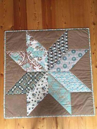 Makerist - Stern-Decke - Patchwork-Projekte - 1