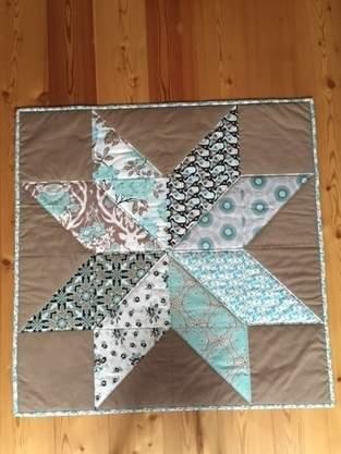 Makerist - Stern-Decke - 1
