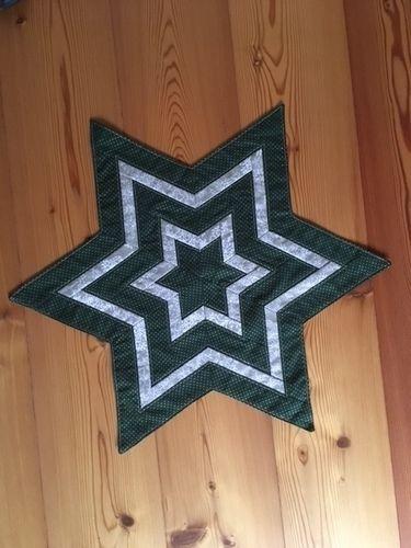 Makerist - Weihnachtsstern-Dekoration - Patchwork-Projekte - 1