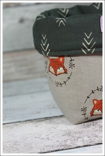 Makerist - Kleine Utensilo´s aus süßem Fuchs-Stoff - Nähprojekte - 3