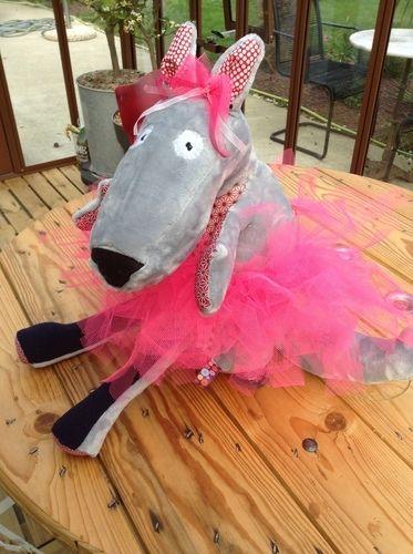 Makerist - Louloute ma louve doudou pou ma fille - Créations de couture - 2