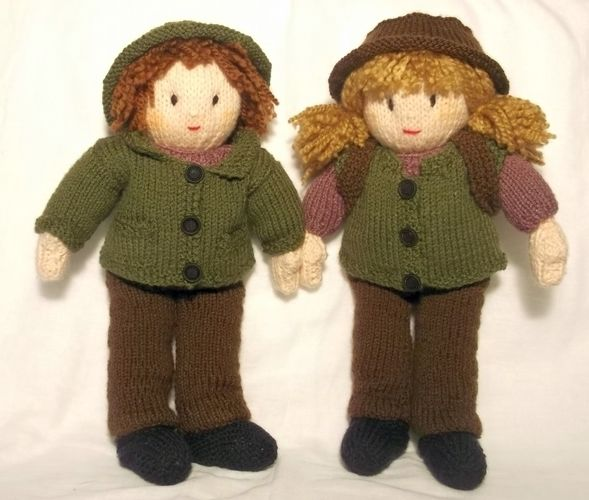 Makerist - Jesse and Josie's Autumn Walk - Knitting Showcase - 1