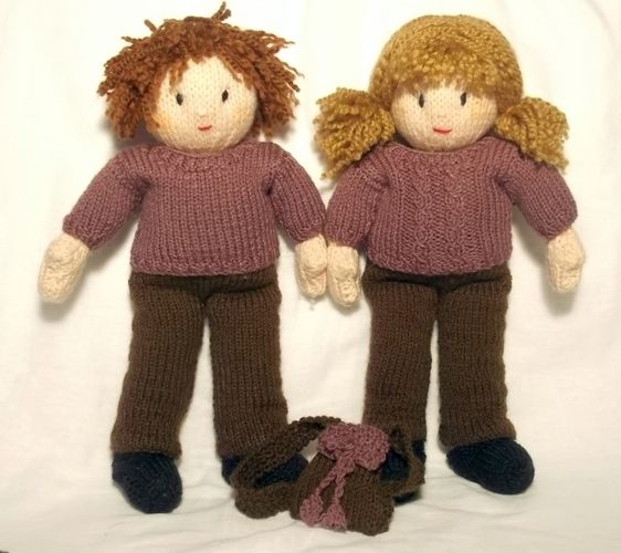 Makerist - Jesse and Josie's Autumn Walk - Knitting Showcase - 2