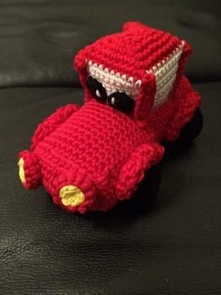 "Makerist - Rotes ""Cars"" Auto - 1"