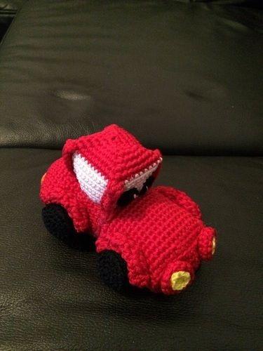 "Makerist - Rotes ""Cars"" Auto - Häkelprojekte - 3"