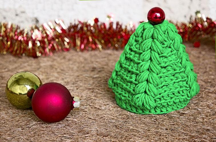 Makerist - Weihnachtsbaum in 10 Minuten - Häkelprojekte - 1