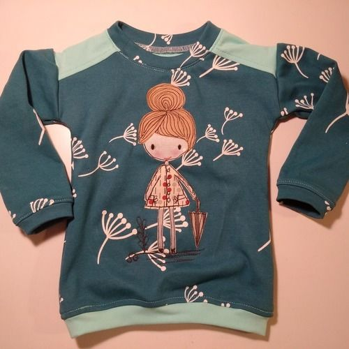 Makerist - Genähmaltes Shirt für meine Nichte - Nähprojekte - 1