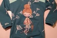 Makerist - Genähmaltes Shirt für meine Nichte - 1