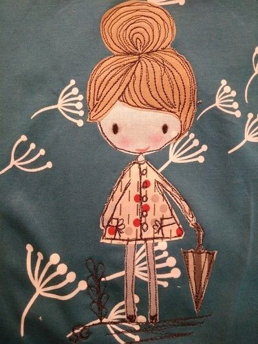Makerist - Genähmaltes Shirt für meine Nichte - Nähprojekte - 2