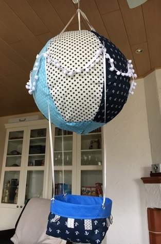 Adventskalender Heißluftballon