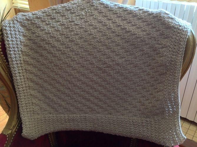 """Makerist - Couverture bébé avec laine """"Nomade"""" - Créations de tricot - 1"""