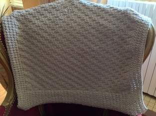 """Makerist - Couverture bébé avec laine """"Nomade"""" - 1"""