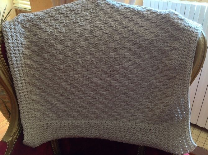 """Makerist - Couverture bébé avec laine """"Nomade"""" - Créations de tricot - 2"""