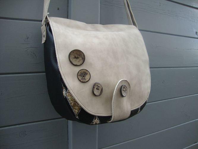 Makerist - sac besace bouton - Créations de couture - 1