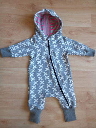 Makerist - Baby-Overall in Gr. 68 - 1