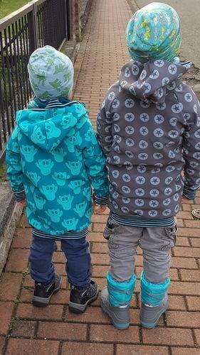 Makerist - Softshell Jacken für meine Räuber - Nähprojekte - 3