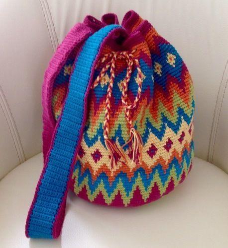 Makerist - Sac style wayuu  - Créations de crochet - 1