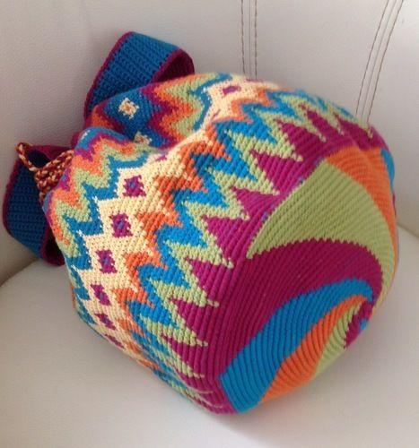 Makerist - Sac style wayuu  - Créations de crochet - 2