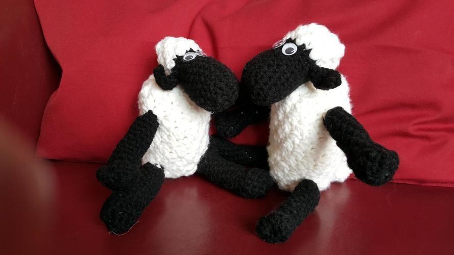 Makerist - Shaun das Schaf - Häkelprojekte - 1