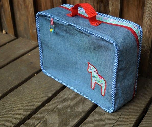 Makerist - Kinderkoffer ARA von Frau Scheider schneidert - Nähprojekte - 1