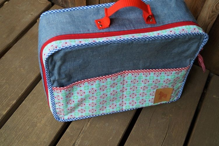 Makerist - Kinderkoffer ARA von Frau Scheider schneidert - Nähprojekte - 2