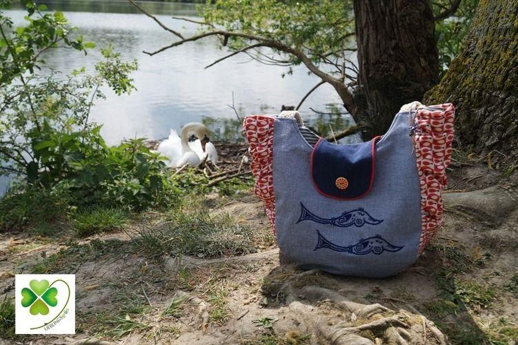 Makerist - Big Beach Bag Kibadoo - Nähprojekte - 1