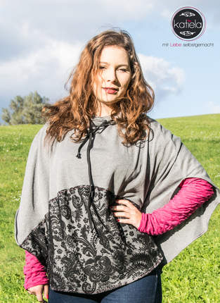Makerist - Windfang Poncho - 1