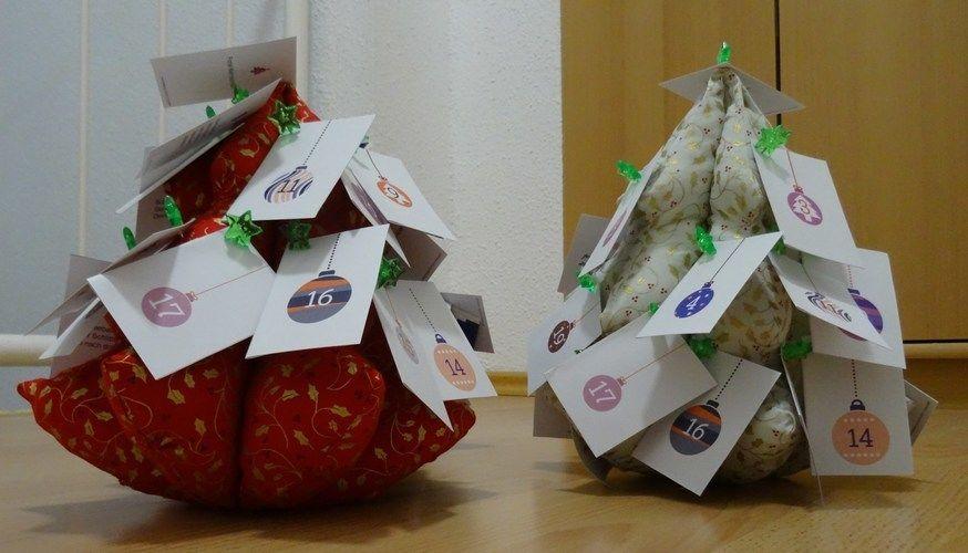 Makerist - Adventskalendertannenbäumchen - Nähprojekte - 2