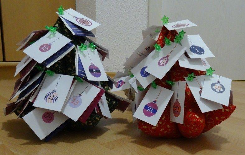 Makerist - Adventskalendertannenbäumchen - Nähprojekte - 3