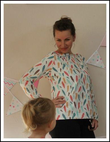 Makerist - Shirt MARLENE für groß + klein - Nähprojekte - 2