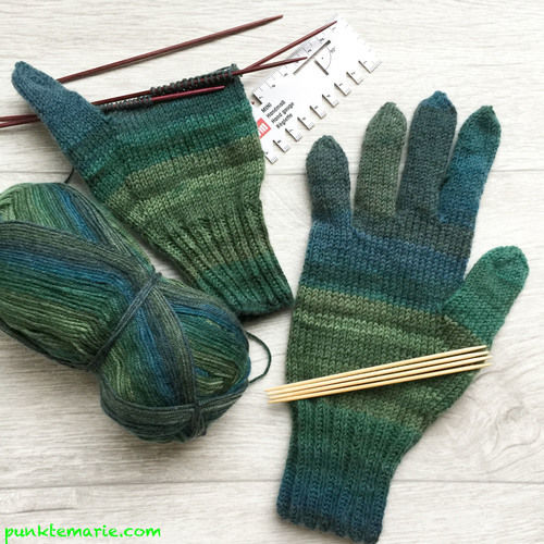 Makerist - Fingerhandschuhe Nr.1 - Strickprojekte - 1
