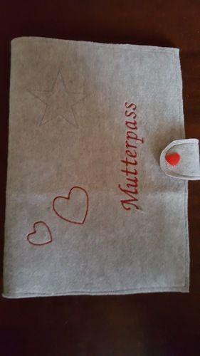 Makerist - Mutterpass Hülle aus Filz - Nähprojekte - 1