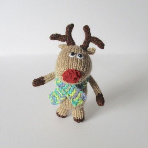 Makerist - Dinky Reindeer - Knitting Showcase - 1