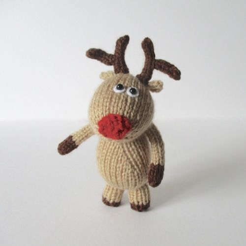 Makerist - Dinky Reindeer - Knitting Showcase - 2