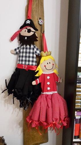 Makerist - Adventskalender Prinzessin und Pirat  - Nähprojekte - 1