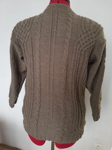 Makerist - Pull avec torsade entrelacés  - Créations de tricot - 1