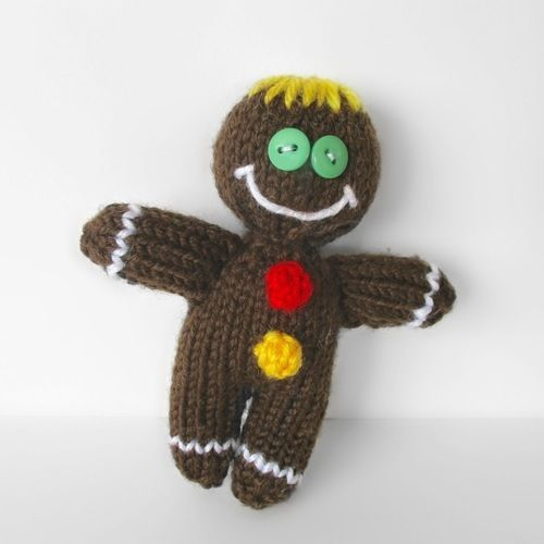 Makerist - Gingerbread Man - Knitting Showcase - 1