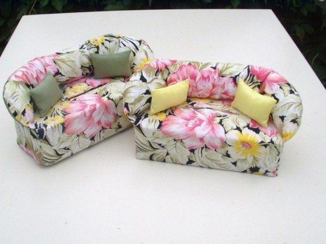 Makerist - Minisofa - Überzug für Taschentücherbox - Nähprojekte - 1