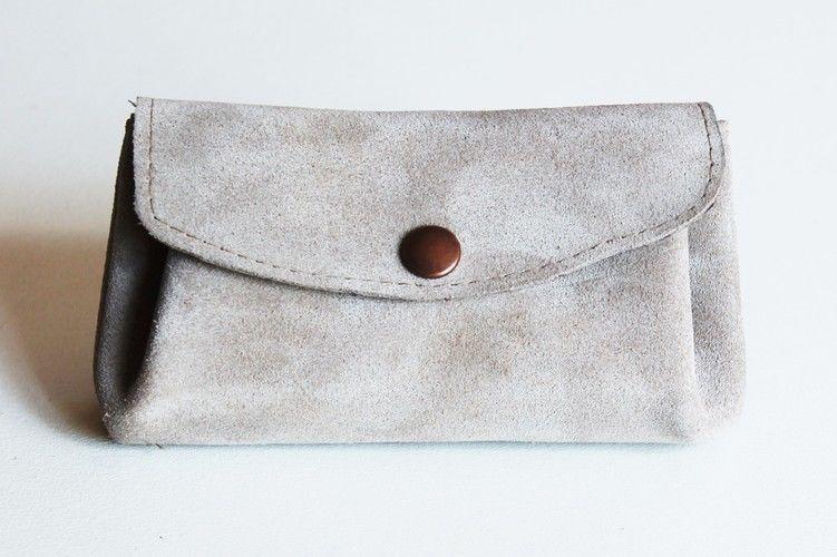 Makerist - Porte-monnaie en cuir et en shweshwe - Créations de couture - 1