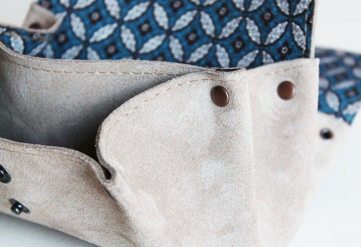 Makerist - Porte-monnaie en cuir et en shweshwe - Créations de couture - 3