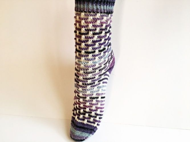 "Makerist - Socken ""Stephie"" - Strickprojekte - 1"
