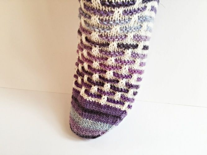 "Makerist - Socken ""Stephie"" - Strickprojekte - 3"