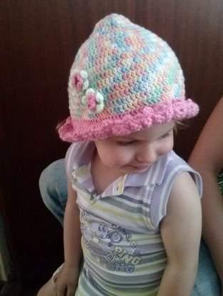 Makerist - Häkelhut für die kleine Lady - 1