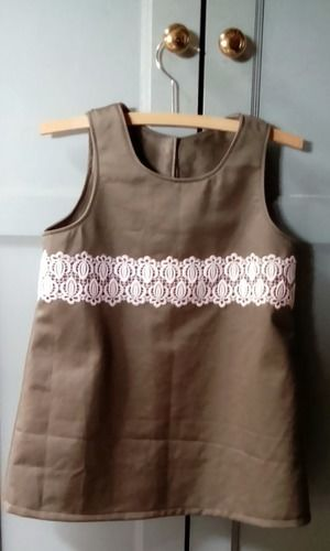 Makerist - Mini Shift Dress with lace trim - Sewing Showcase - 1