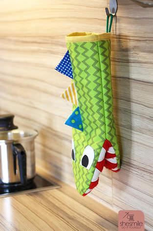 Makerist - Ofenhandschuh Krokodil Frederick - 1
